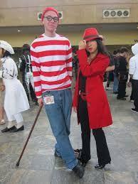 carmen sandiego and waldo couples cosplay - Google Search