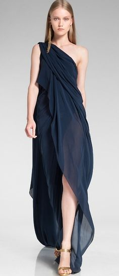 Donna Karan Resort 2014. it's like a tulip you wear