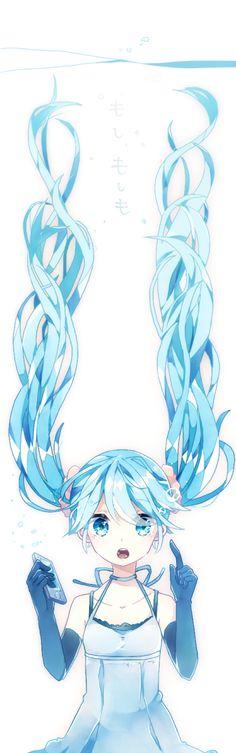 anime art vocaloid