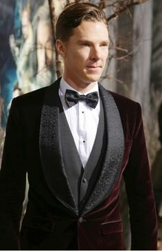 #Benedict in velvet at Desolation of Smaug Premiere