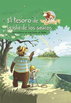 """Conejo y Oso. El tesoro de la isla de los saúcos deWalko Mi valoración: 5 de 5 estrellas """"Al final de cada arcoíris hay un tesoro de oro enterrado"""", eso le lee Pequeño Conejo a Oso Mel…"""