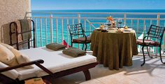 Ocean's Edge Honeymoon Beachfront Concierge Room at Sandals Grande Riviera in Ocho Rios, Jamaica
