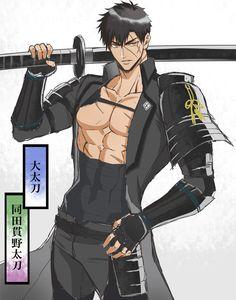 Handsome Anime Guys, Hot Anime Guys, Character Inspiration, Character Art, Character Design, Yakuza Anime, Animated Man, Black Comics, Anime Devil