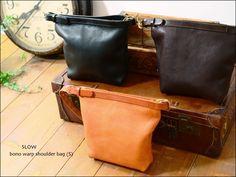 SLOW bono warp shoulder bag (S)