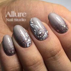 "629 Likes, 2 Comments - Маникюр. Дизайн ногтей. МК (@ru_nails_master) on Instagram: ""@allure_nail_studio г. Магнитогорск Нравится работа? Ставь  #ru_nails_master #дизайнногтей…"""