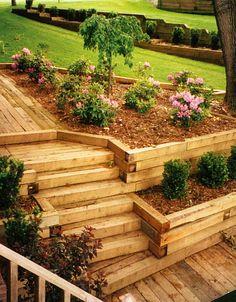 K Landscaping, LLC | Portfolio | Design Work | Stairways