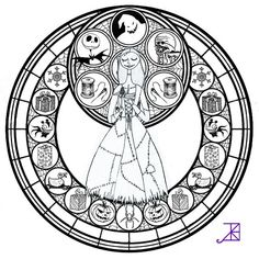 Free Printables Nightmare Before Christmas Coloring Pages I Love