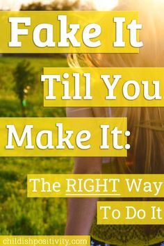 """The famous saying """"Fake It Till You Make It"""" can really do wonders in our lives and maybe even help us accomplish life goals when done right. Focus On Yourself, Improve Yourself, Thursday Motivation, Change Your Mindset, Self Improvement Tips, Holistic Healing, Health And Beauty Tips, Self Confidence, Life Goals"""