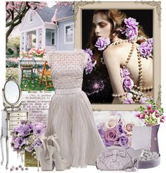 """""""Pretty in Lilac"""" by mayara1011 ❤ liked on Polyvore"""