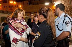 Sarah Silverman's Sister Arrested Praying At Wailing Wall; Rabbi Susan Silverman Wears Tallitot