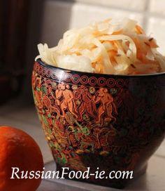Sour (pickled, salted) cabbage recipe. Making Russian Sauerkraut