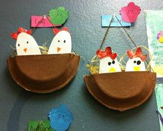 Paper Plate Crafts For Kids, Toilet Paper Roll Crafts, Spring Crafts For Kids, Kindergarten Crafts, Preschool Crafts, Easter Art, Easter Crafts, Art Drawings For Kids, Art For Kids