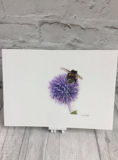 Bee print, bumble bee fine art print, bee giclee print, nature print, insect art, nursery decor, contemporary home, fun art,  paper gift by TeresaSArtShop on Etsy https://www.etsy.com/uk/listing/505026698/bee-print-bumble-bee-fine-art-print-bee