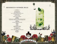 Hendrick's Summer Mule bei LONG time no DRINK @ lutz - die bar Bar, Mint, Summer, Summer Time, Peppermint