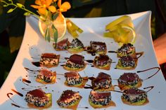Maui Catering Services Island-Inspired Appetizers