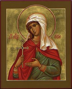 Xenia of St. Petersburg by Paul Drozdowski Byzantine Icons, Byzantine Art, Religious Icons, Religious Art, Russian Orthodox, Icon Collection, Art Icon, Catholic Saints, Orthodox Icons