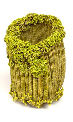 Home Décor Seed Beaded Glass Basket - Fire Mountain Gems and Beads