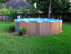 Backyard Above Ground Pool Designs swim up bar in for above ground pool | already have the pallet