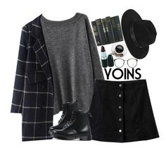 """YOINS3"" by sisistyle ❤ liked on Polyvore featuring Dr. Martens, Linda Farrow, Gladys Tamez Millinery and yoins"