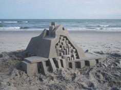 New Awe-Inspiring Sand Castles by Calvin Seibert