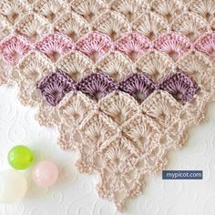 "1,413 Likes, 16 Comments - Hobby Farm In Forrest / (@tanyaoztrk) on Instagram: ""#mypicot #from#online 🐼🌺🍒#alinti #crochet #crocheted #crochetshawl #tiggaski #tığişiniseviyorum💙💟💜…"""
