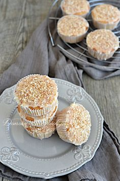 Muffinki kokosowe bez glutenu i laktozy