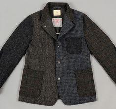 After the Denim: Beauty & Youth - Harris Tweed Blazer