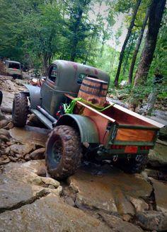 "Dodge Power Wagon named ""Bootlegger"" - Dodge Trucks, Jeep Truck, Diesel Trucks, Custom Trucks, Lifted Trucks, Cool Trucks, Pickup Trucks, Lifted Ford, Jeep Tent"