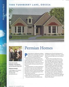 12 best permian homes in the news images custom homes home buying rh pinterest com