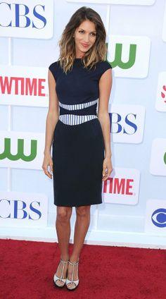 Dawn Olivieri at the 2012 CBS/ Showtine/ CW Summer Press Tour.