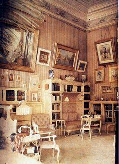 "Original colour photo of the Alexander Palace,Tsarskoe Selo in 1917. ""AL"""