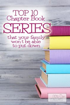 Do you find yourself constantly looking for great chapter books that your family will enjoy? Today there are so many books begin published, but so much of it junk. We've put together a list of our favorite chapter books series. They're wholesome, beautiful, and your family won't be able to put them down!