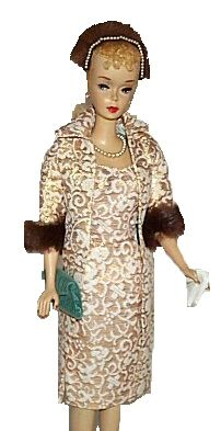 Vintage Barbie in Evening Splendour from Fashion Doll Guide - Online Guide To Vintage Barbie Dolls, Clothing, Accessories and other Fashion Dolls