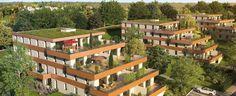 Villers les Nancy :  Villers les Nancy: Cette résidence s'élève dans un cadre prestigieux sur le fIanc est du parc de Brabois près de Nancy. Cet ensemble immobilier neuf propose de nombreux appartements du 2 au 4 pièces, surplombant le domaine boisé de la résidence.   Référence: Le Clos St Fiacre VI805   #VillierlesNancy #IGPIMMOBILIER
