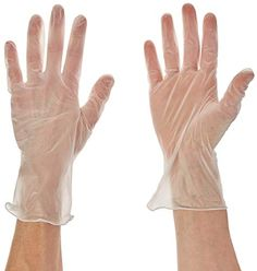 100 Supertouch Powder Free Flexo Stretch Vinyl Disposable Gloves Medical Grade