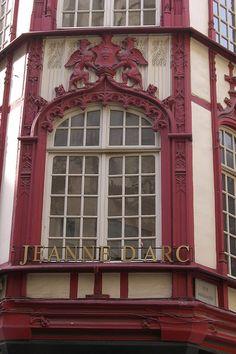 Window, Rouen, France