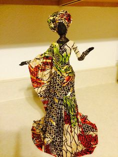 Diy Crafts - Items similar to Sherika Statue High Praise collection Thema on Etsy African American Figurines, African American Dolls, Clay Dolls, Art Dolls, Black Figurines, African Crafts, African Paintings, African Dolls, African Sculptures
