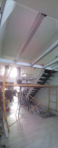 Recuperamos la escalera / siempre intentamos recuperar lo máximo posible de cada lugar (mínimo residuo)