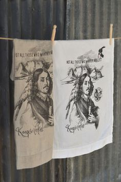 A generously sized stonewashed linen cloth, printed with a hand drawn tongue-in-cheek design paying homage to the Cape, it's history and favourite sparkling drink.  Manufactured in India and imported by Masquerade Printed in South Africa Made from 100% linen, woven from Belgium linen flax Enzyme washed (stone washed) to enhance the soft and floppy texture Product detail: – 2cm hem with pulled thread detail on one end – Size: 50cm x 70cm – Colour option: pure white or natural linen
