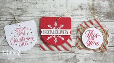 Tags on Bags — Stampin Up! Artisan Blog Hop | Amy's Paper Crafts