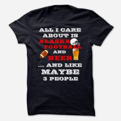 ALASKA FOOTBALL AND BEER, Order HERE ==> https://www.sunfrog.com/Sports/ALASKA-FOOTBALL-AND-BEER.html?id=41088 #christmasgifts #xmasgifts #footballlovers
