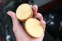 Great tip:  How to keep inside car windows fog free using a potato.