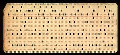 Punchcards! Fortunately keyboards, monitors, and interactive compilers removed the need for these frustrating input devices.