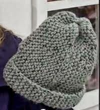 Receita de Tricô: Gorro em trico