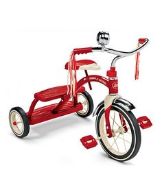 Take a look at this Red Classic Dual Deck Tricycle by Radio Flyer on #zulily today! 49.99