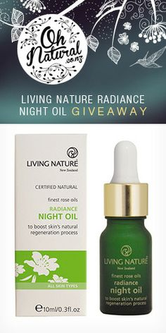 Win a Bottle of #Living #Nature #Radiance #Night #Oil! #skincare #competition