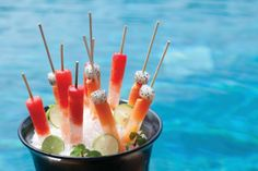 Make your own Four Seasons summer poolside desserts for kids