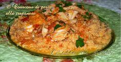Ricetta cous cous di pesce alla trapanese