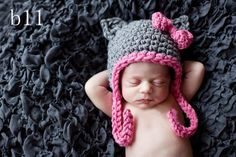 crochet baby girl hello kitty hat newborn gift phote prop 2012 wholesale-in Hats & Caps from Apparel & Accessories on Aliexpress.com