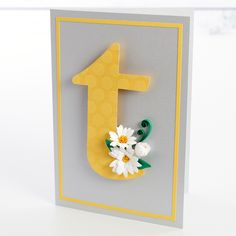Lesson 4: Daisies in Bloom. Create hand-fringed quilled flowers with Cecelia's traditional technique. Then, see how fast and easy it is to create quilled die-cut daisy blooms and buds. Learn to arrange the flowers in realistic positions on the card and quill vines for a more dynamic look.